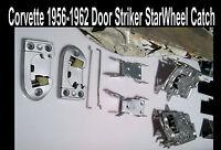 Corvette 1956 1957 1958 1959 1960 1961 1962 Door Striker & Starwheels L R Window