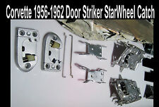 Corvette 1956 1957 1958 1959 1960 1961 1962 Door Striker & Starwheels L R Window