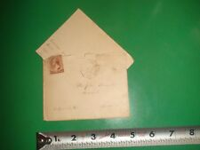 JB183 Antq 1887 Envelope RARE Use of Money Order Business PM M.O.B. Personal Ltr