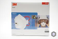 10x 3M Aura 9332+ FFP3 Atemschutzmaske FFP3 NR D 3M  mit Ventil OVP