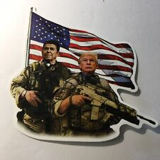 NEW💥 DONALD TRUMP AND RONALD REAGAN RIGHT TO BEAR ARMS COLLECTIBLE STICKER