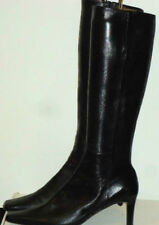 Zip Wear to Work Knee High Boots Solid Shoes for Women