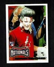 STEPHEN STRASBURG 2010 TOPPS #661F ROOKIE PIE IN THE FACE (SP)