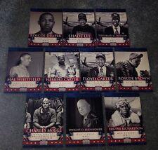 2012 Americana Military Elite Insert Set 1-10 Tuskegee Airmen Dwight Eisenhower