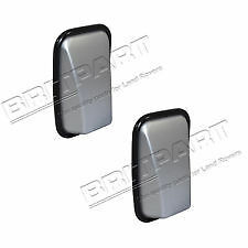 LAND ROVER DEFENDER 90 110 130 XS WING MIRROR HEAD SET OF 2 IN SILVER DA6893