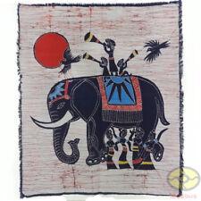 Chinese Art Wall Hanging Batik Tapestry -Songs and Dances of Dai Minority People