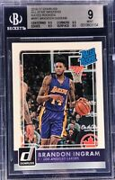 Brandon Ingram 2016-17 Panini Donruss Rated Rookie All-Star Weekend BGS 9 Rare