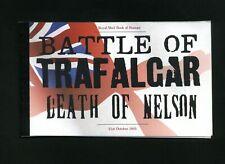 2005 Dx35 Battle of Trafalgar Prestige booklet - No Stamps