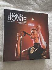 "✅ David Bowie - Brilliant Live Adventures Empty 12"" Vinyl LP Box Slipcase Sealed"
