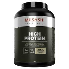 Musashi High Protein Powder, Vanilla - 2000g