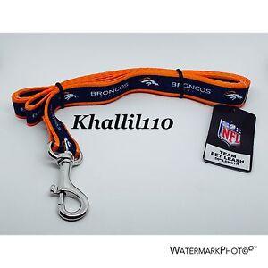 """NFL Denver Broncos Pet  Dog Leash 50"""""""