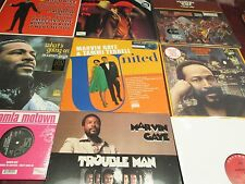 MARVIN GAYE WANTS GOIN ON MIDNIGHT LOVE TROUBLE MAN I WANT YOU GET IT ON 9 LPSET