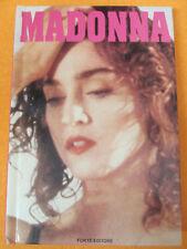 BOOK LIBRO MADONNA 1989 FORTE EDITORE con foto a colori CICCONE no cd lp dvd mc*