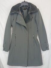 Mountain Hardwear Womens Sz Sm Tuja Softshell Trench Coat