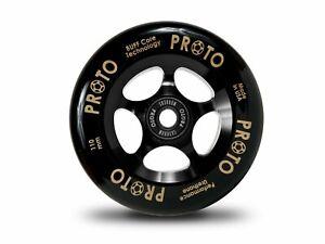 Proto Grippers Wheels 110mm - Black on Black (Pair)