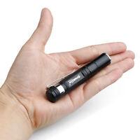 Outdoor 3500LM Tasche LED Taschenlampe Zoombare Fackel Mini Stiftlampe Licht DIY