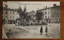CPA-Bourg en Bresse - Place Edgar Quinet- jeux enfants cerceau - meubles Rozet