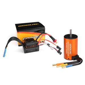 GoolRC Upgrade 3660 3300KV Brushless Motor + ESC Combo Set For 1/10 RC Car X9Z1