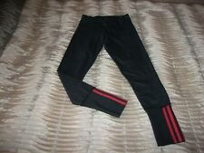 WOMEN'S ADIDAS CLIMALITE GREY MIX RUN SPORTS FULL LENGTH LEGGINGS SMALL 8-10