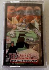 OG Sealed Rare Memphis Rap Tape Boondox & Propaganda - The Game of Life Gangsta