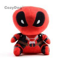 Avengers Comics Deadpool Plush Soft Toy Doll 8'' Teddy Kids Birthday Gift Cute