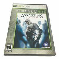 Assassin's Creed Microsoft Xbox 360 Platinum Hits Complete CIB Gaming  *RR