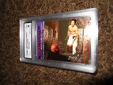 1994 Street Fighter Ryu vs Sagat SF7 Foil Insert Trading Card Graded 8