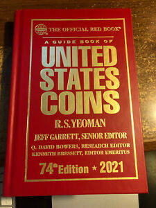 2021 Guide Book of US Coins, RS Yeoman, Hardback Red Book, PRISTINE