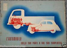 FIAT 1100 & FIAT 666n 626n 1941 WORKSHOP LIBRO BELLISSIMO articolo