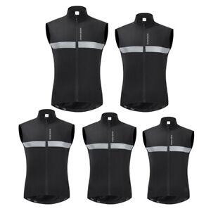 High Visibility Reflective Vest Motorcycle Gilet Bike Cycling Vest Hi Viz Jersey