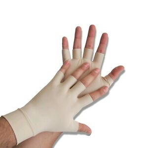 Anti Arthritis Compression Gloves Large Carpal Tunnel Hand Support Pain Relief