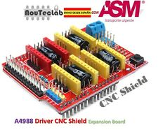 CNC Shield Expansion Board V3 Engraver A4988 DRV8825 Driver ENVIO RAPIDO