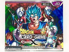 Bandai Bcldbbo7412 Dragon Ball Super Card Game Cross Worlds Booster Multicolou