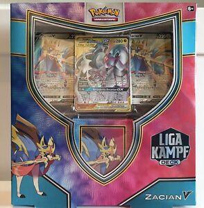 Pokémon Liga-Kampfdeck Zacian-V - Neu & OVP 2x Zacian V + Tag Team Arceus