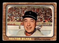 TOE BLAKE 66-67 TOPPS 1966-67  NO 1 POOR  12676