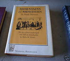 1962 Book Mountains and Molehills by Marryat w/ DJ
