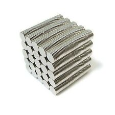 "1000pcs 5/16"" x 1/32"" Disc 8x1mm Neodymium Magnets Refrigerator Permanent N35"