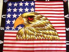 New listing 12 American Flag/Eagle Bandanas - Usa - Free Shipping