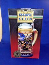 Rare Germany Gerz 1988 Summer Olympics (CS-91) Budweiser Anheuser-Busch Stein