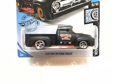 2019 N Case Hot Wheels '56 Ford Truck w/Real Riders SUPER CUSTOM #1 of 1 By AEB