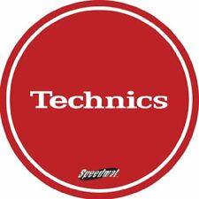Technics DMC Speedmats - Slipmat para plato de DJ color ojo y blanco