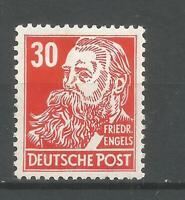 DDR  Postfrisch 335  zXI  Köpfe II  tiefst geprüft  Paul  (110.-€ )