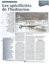 Hydravion Latécoère 300 la Croix-du-Sud équipage Mermoz Laté 521  FRANCE FICHE