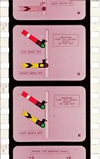 CD 9x BRITISH TRANSPORT FILMS BRITISH RAILWAYS BTF BR MIC TRAINING FILMSTRIPS