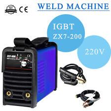 ZX7-200 Mini MMA ARC Welder DC  Welding Machine Solder Inverter 220V