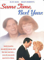 Same Time, Next Year (DVD, 2004) Alan Alda-Ellen Burstyn-SEALED