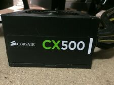 Corsair CX500 500W 75-001667 ATX Desktop Power Supply PSU