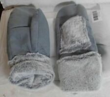 NEW OPEN PACKAGE HS 95199 Unisex Heated Sherpa Lined Mittens L/XL $94.50