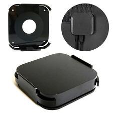 Black Wall Mount Case Bracket Holder Stand Mounting Cradle Kit for Apple TV 2/3