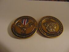 CHALLENGE COIN MARINE CORPS LEAGUE MILITARY ORDER OF THE TASMANIAN DEVIL DOGS